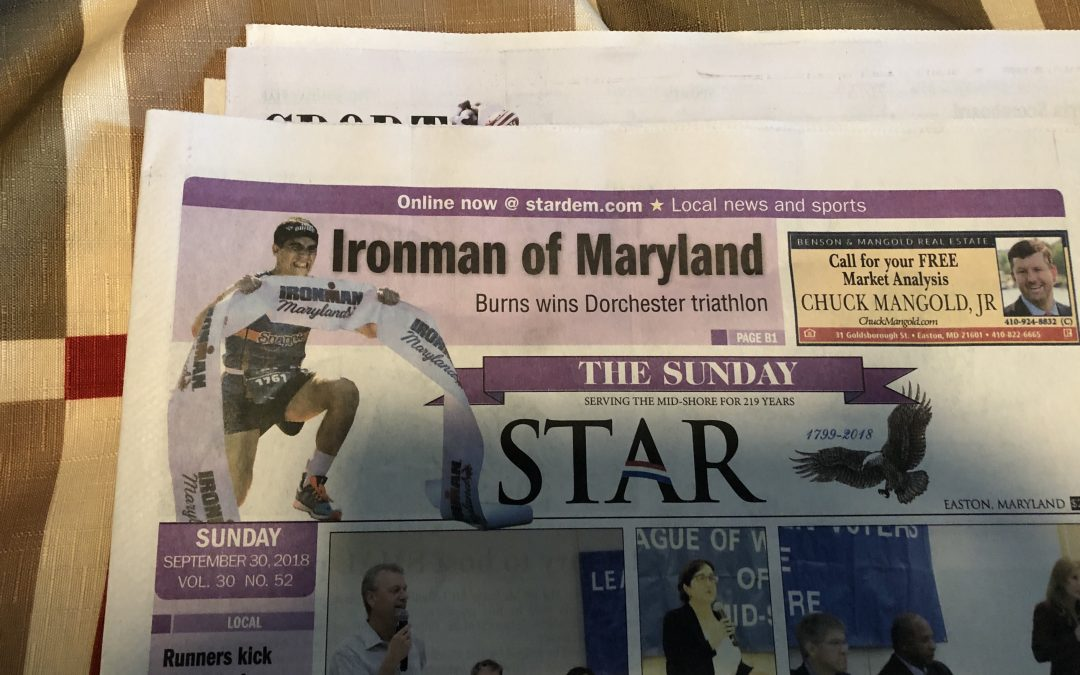 Ironman Maryland Recap; No on Kona?! and What's in store for 2019…